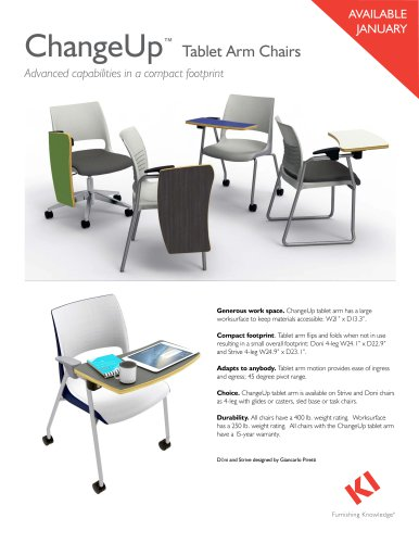 ChangeUp™ Tablet Arm Chairs
