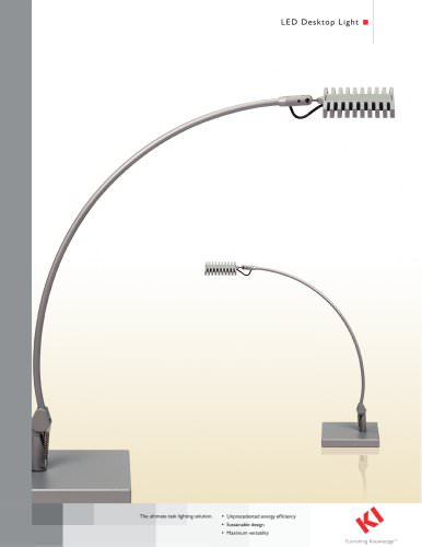 LED Desktop Light Brochure