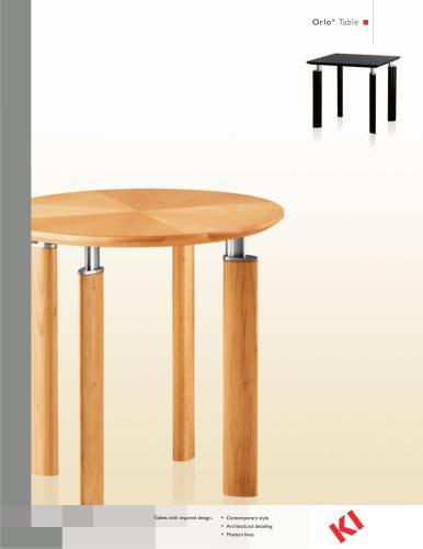 Orlo Table Brochure