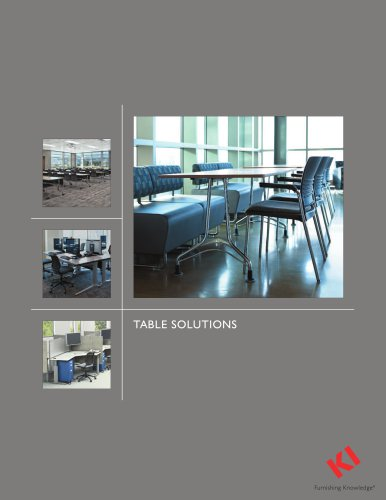 TABLE SOLUTIONS