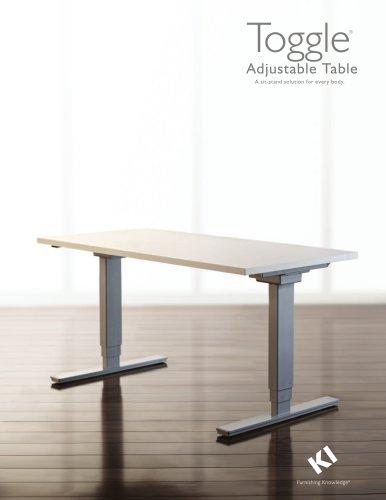 TOGGLE ADJUSTABLE TABLE