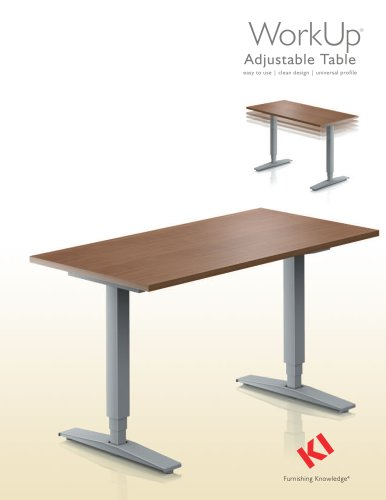 WORKUP ADJUSTABLE TABLE