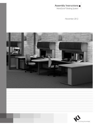WorkZone® Desking System