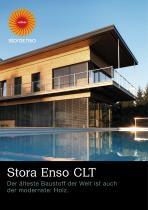 Stora Enso CLT Der älteste Baustoff der Welt ist auch der modernste: Holz.