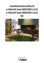 Installationshandbuch e-MatriX