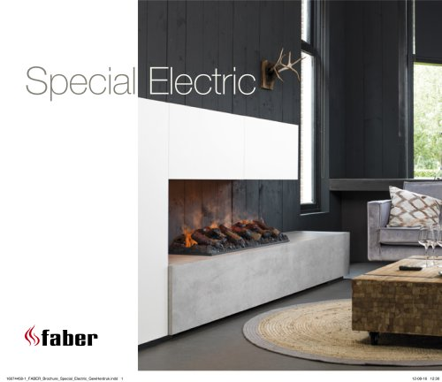 New collection electric fires