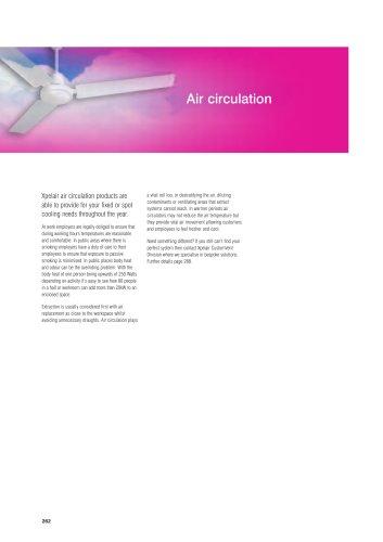 Xpelair air circulation