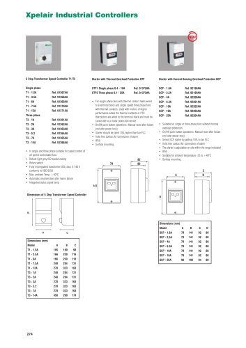 Xpelair Industrial Controllers