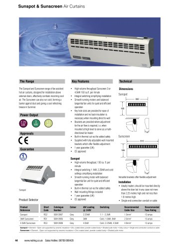 Commercial space heating solutions