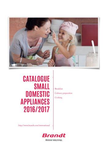 Catalogue Small Domestic Appliances 2016/2017