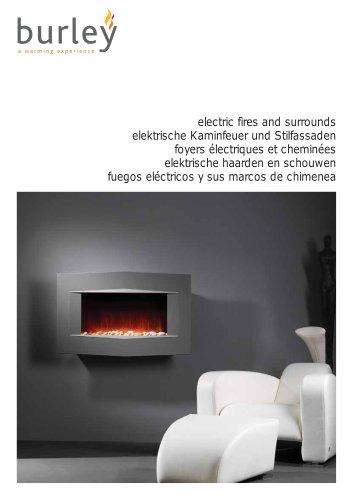 BURLEY ELECTRIC FIRES MULTI-LANGUAGE