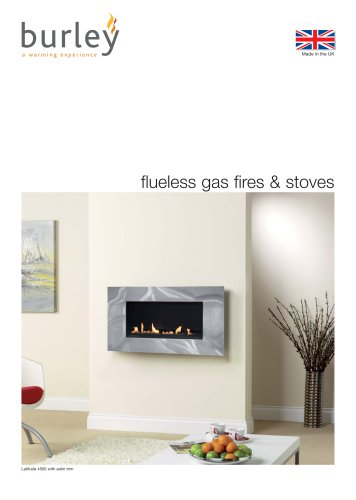 flueless gas fires & stoves
