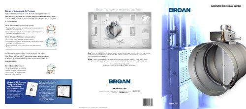BROAN Make-Up Air Dampers Catalog