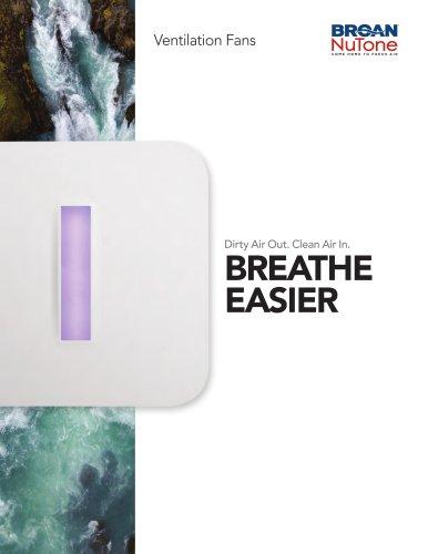 Broan-NuTone Ventilation Fans Catalog