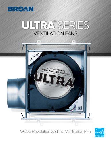 BROAN ULTRA GREEN? Series Fans