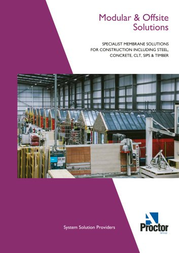 Proctors Modular and Offsite Solutions Brochure