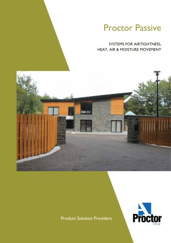 Product Solutions for Passive House Brochure
