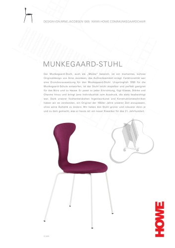 MUNKEGAARD-STUHL