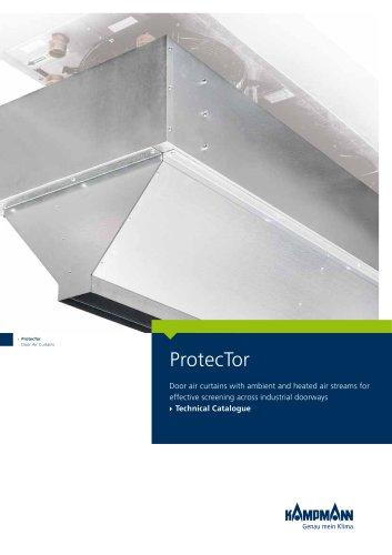 ProtecTor door air curtains