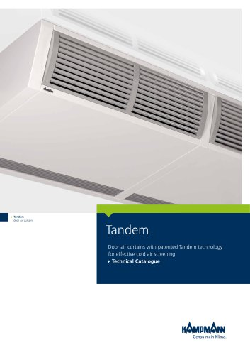 Tandem 300 door air curtains