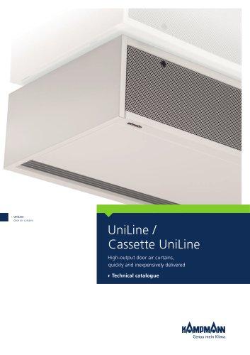 UniLine, Cassette UniLine door air curtains