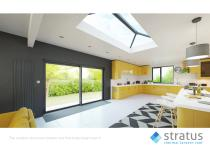stratus thermal roof - The modern aluminium lantern roof that helps keep heat in